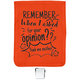 Remember When I Asked For Your Opinion? Small Shoulder Bag - Bags - Rebel Style Shop
