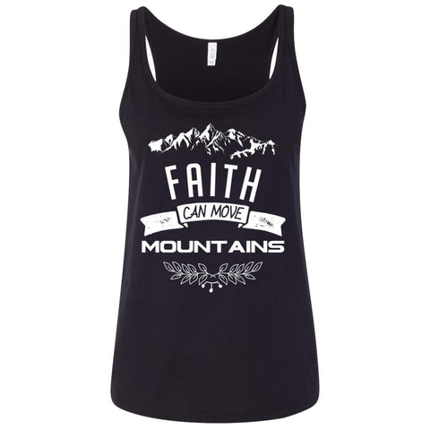 Faith Can Move Mountains Tank Tops - Apparel - Rebel Style Shop