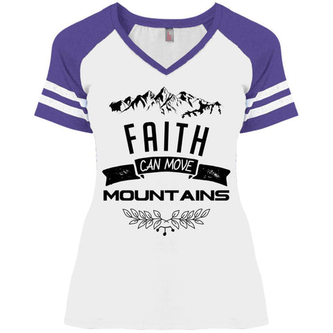 Faith Can Move Mountains Ladies Shirts - Apparel - Rebel Style Shop