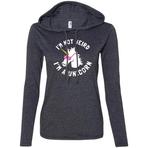 "Funny Ladies Sweater - ""I'm Not Weird, I'm A Unicorn"""