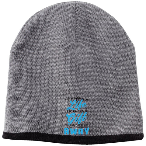 The Meaning Of Life 2 Beanie - Apparel - Rebel Style Shop