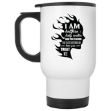 "Inspirational Mugs - ""I Am Both Hellfire And Holy Water"""
