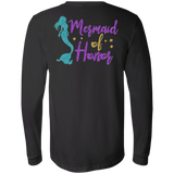 Mermaid Of Honor Men's Jersey LS T-Shirt - T-Shirts - Rebel Style Shop