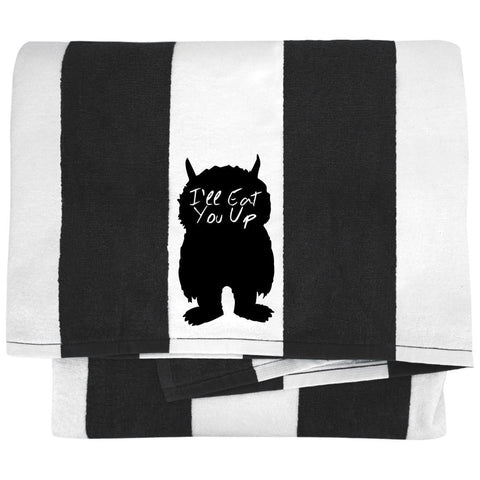 I'll Eat You Up Towels - Apparel - Rebel Style Shop