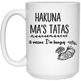 Hakuna Ma's Tatas Mugs - Apparel - Rebel Style Shop