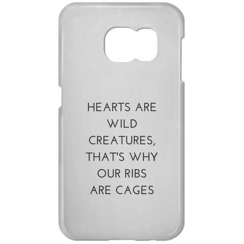 Hearts are Wild Creatures Samsung Galaxy S7 Phone Case - Phone Cases - Rebel Style Shop