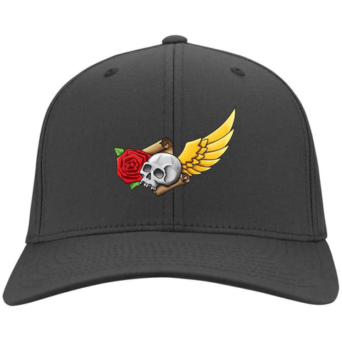 Skull, Rose, Parchment & Wing Caps