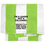 "Funny Gifts - ""I'm A Leader, Not A Follower"""