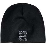 Remember When I Asked For Your Opinion??? 100% Acrylic Beanie - Hats - Rebel Style Shop