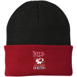 Sorry Not Tonight. I Have To Feed My Unicorn Knit Cap - Hats - Rebel Style Shop