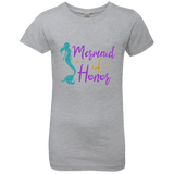 Mermaid Of Honor Girls' Princess T-Shirt