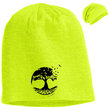 Tree of Life Slouch Beanie - Hats - Rebel Style Shop