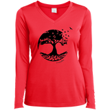 Tree of Life V-Neck T-Shirt - T-Shirts - Rebel Style Shop