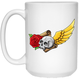 Skull, Rose, Parchment & Wing Bags Mugs - Apparel - Rebel Style Shop