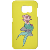 pig mermaid for Romina final file Phone Case