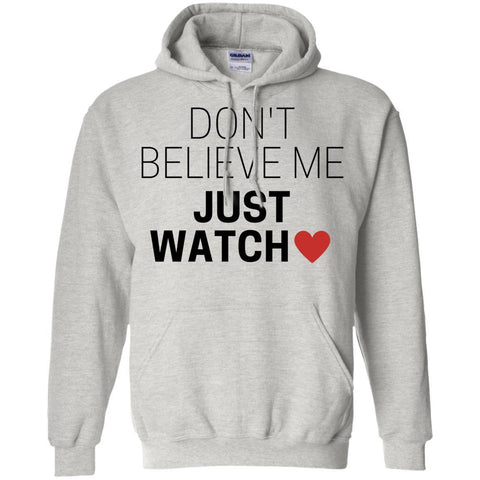 Don't Believe Me Just Watch Sweater - Apparel - Rebel Style Shop