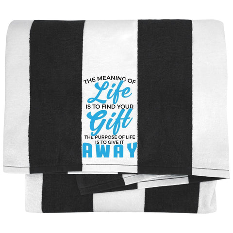 The Meaning Of Life Towels - Apparel - Rebel Style Shop