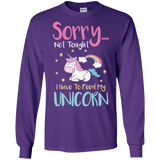 Sorry... Not Tonight LS Ultra Cotton T-Shirt - T-Shirts - Rebel Style Shop
