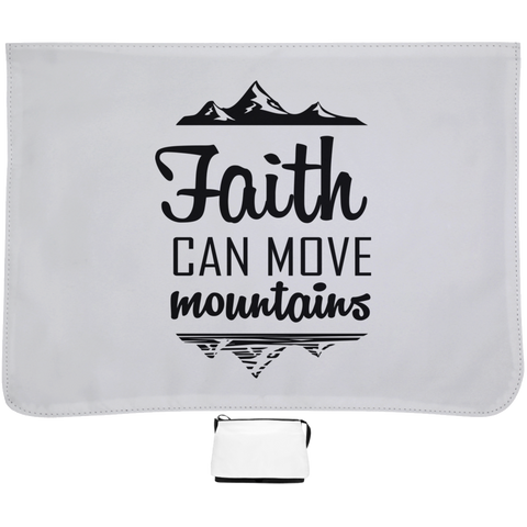 Faith Can Move Mountains Large Shoulder Bag