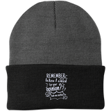 Remember When I Asked For Your Opinion??? Authority Knit Cap - Hats - Rebel Style Shop