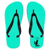 I Love You So Flip Flops - Apparel - Rebel Style Shop