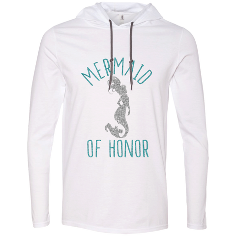 Mermaid Of Honor LS T-Shirt Hoodie