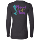 Mermaid Of Honor Ladies' Jersey LS Missy Fit