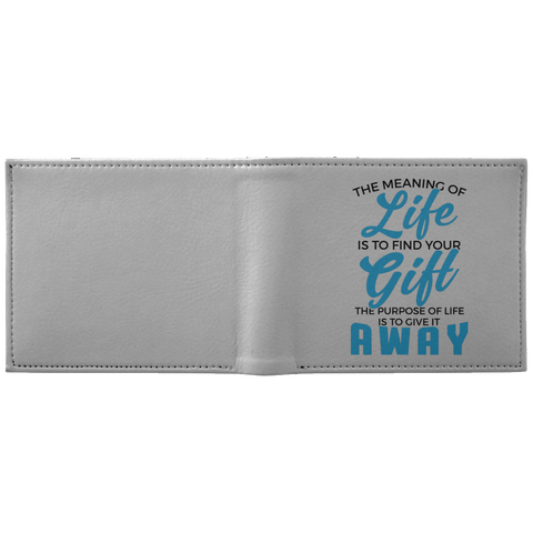 The Meaning Of Life Wallet - Apparel - Rebel Style Shop