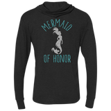 Mermaid Of Honor Unisex Triblend LS Hooded T-Shirt