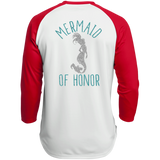 Mermaid Of Honor Polyester Game Baseball Jersey