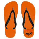 "Feminist Gift - ""In A World Full Of Princesses Dare To Be Batman"" Flip Flops"