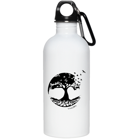 Tree Of Life Stainless Steel Water Bottle - Drinkware - Rebel Style Shop