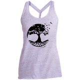Tree of Life Ladies Cosmic Twist Back Tank - T-Shirts - Rebel Style Shop