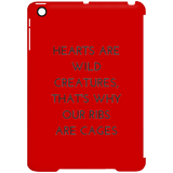 Hearts are Wild CreaturesiPad Mini Clip Case