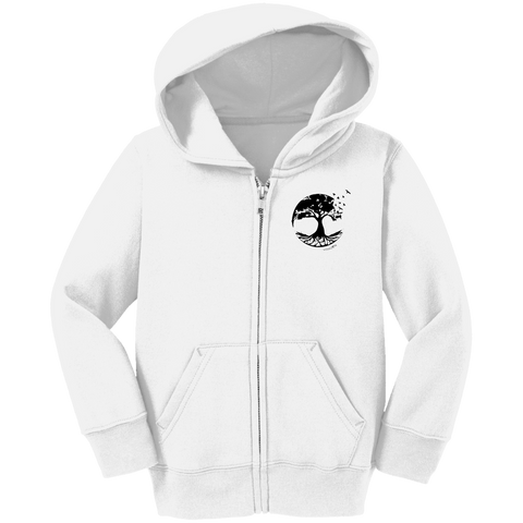 Tree of Life Cargo Toddler Full Zip Hoodie - Sweatshirts - Rebel Style Shop