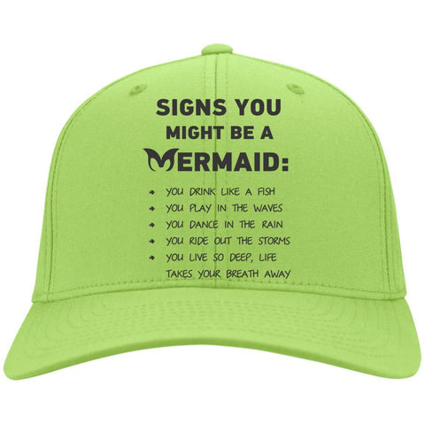 Signs You Might Be A Mermaid Caps - Apparel - Rebel Style Shop