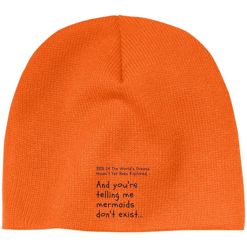 "Custom Beanie - ""88% Of The World's Oceans Haven't Yet Been Explored"""