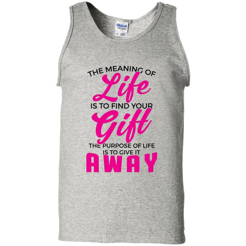 The Meaning Of Life Men's Tank Tops - Apparel - Rebel Style Shop