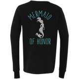 Mermaid Of Honor Youth Jersey LS T-Shirt