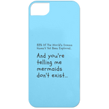 "Custom Phone Case - ""88% Of The World's Oceans Haven't Yet Been Explore"""