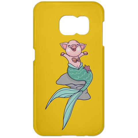 Mermaid Pig Samsung Galaxy S7 Phone Case