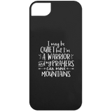 I May Be Quiet But I'm A Warrior  Phone Cases - Apparel - Rebel Style Shop