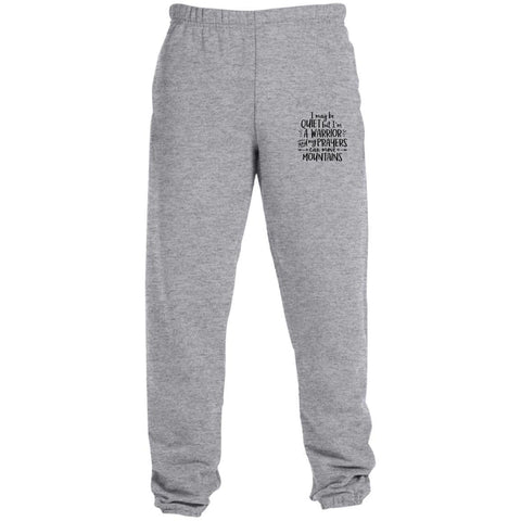 I May Be Quiet But I'm A Warrior Pants - Apparel - Rebel Style Shop