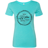 Cast All Your Anxiety On Him Ladies' Triblend T-Shirt - T-Shirts - Rebel Style Shop