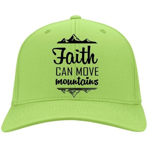 Faith Can Move Mountains Caps - Apparel - Rebel Style Shop