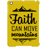 Faith Can Move Mountains iPad Mini Clip Case - Tablet Covers - Rebel Style Shop