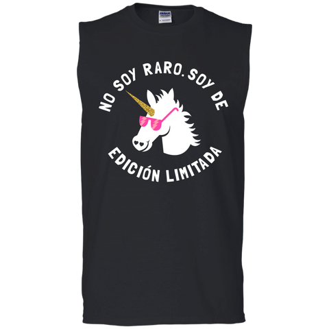 No Soy Raro, Soy De Edicion Limitada Men's Ultra Cotton Sleeveless T-Shirt