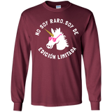 No Soy Raro, Soy De Edicion Limitada Youth LS T-Shirt