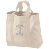 Mermaid Of Honor 2-Tone Shopping Tote - Bags - Rebel Style Shop