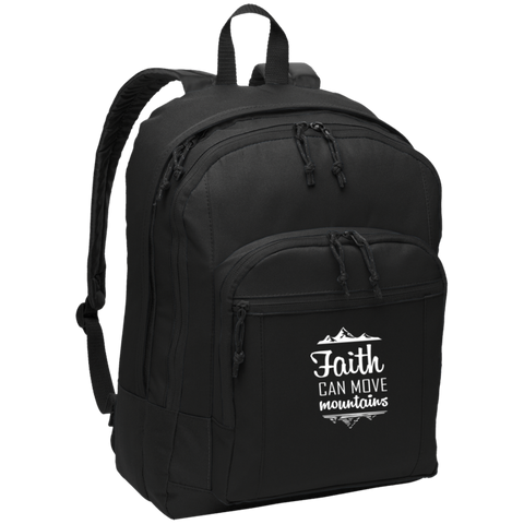 Faith Can Move Mountains Backpack